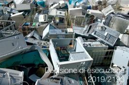 Decisione di esecuzione della Commissione 2019/2193