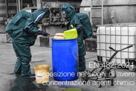UNI EN 482:2021 | Esposizione nei luoghi di lavoro concentrazione agenti chimici