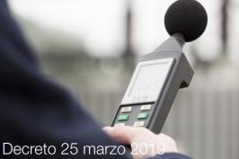 Decreto 25 marzo 2019