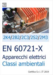 EN 60721-X | Apparecchi elettrici Classi ambientali