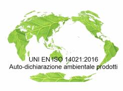 UNI EN ISO 14021:2016 Auto-dichiarazione ambientale prodotti