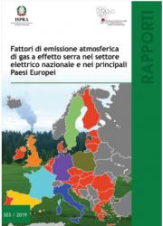 Fattori di emissione atmosferica di gas a effetto serra settore elettrico