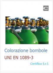 Colorazione Bombole UNI EN 1089-3: Fonte VVF