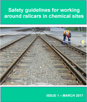 Safety guidelines for working around railcars in chemical sites