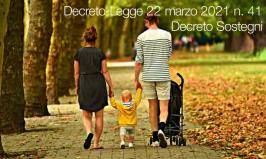 Decreto-Legge 22 marzo 2021 n. 41