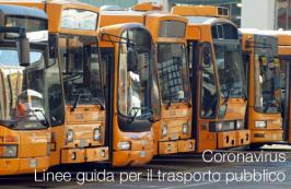 Coronavirus | linee guida per il trasporto pubblico