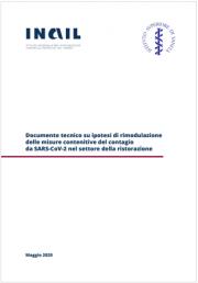 Documento tecnico ipotesi rimodulazione misure contenitive SARS-CoV-2 settore ristorazione