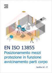 EN ISO 13855 Posizionamento dei mezzi di protezione