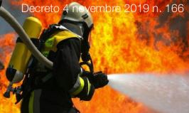 Decreto 4 novembre 2019 n. 166