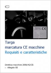 Targa marcatura CE macchine: Requisiti e caratteristiche