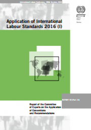 Application of International Labour Standards 2016 - ILO