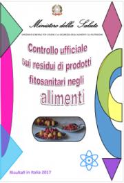 Controllo ufficiale residui di prodotti fitosanitari negli alimenti | 2017