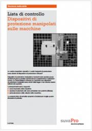Dispositivi di protezione manipolati sulle macchine