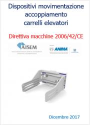 Dispositivi movimentazione accoppiati carrelli elevatori