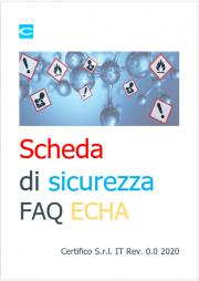 FAQ ECHA - Scheda di sicurezza (SDS)