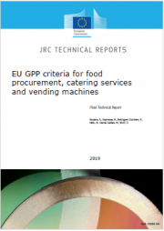 EU GPP criteria for food procurement, catering services and vending machines