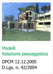 Modelli Relazione paesaggistica