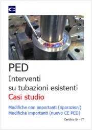 PED: Interventi su tubazioni esistenti - Casi studio