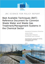 BREF Common Waste Water and Waste Gas Treatment/Management Systems in the Chemical Sector