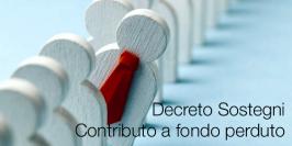 Contributo a fondo perduto | Decreto Sostegni