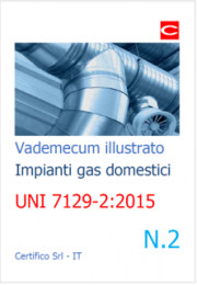 Vademecum impianti a gas uso domestico n. 2 | UNI 7129-2:2015