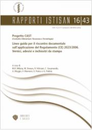 Linee Guida riscontro Documentale Regolamento GMP Vernici, adesivi e inchiostri da stampa