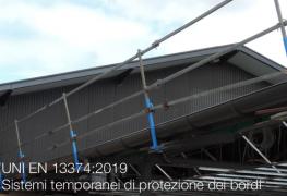 UNI EN 13374:2019 | Sistemi temporanei di protezione dei bordi