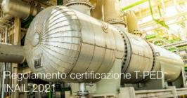 Regolamento certificazione T-PED - INAIL 2021