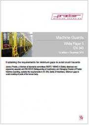 EN 349 White Paper Machine Guards