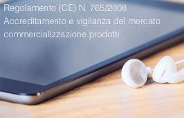 Regolamento (CE) N. 765/2008