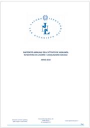 Rapporto annuale ispettorato nazionale del lavoro 2018