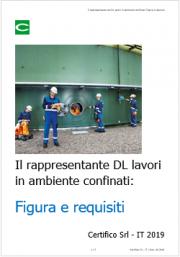 Il rappresentante del DL lavori in ambiente confinati: Figura e requisiti