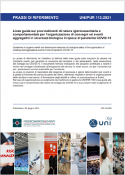 UNI/PdR 113:2021 | Linee guida convegni in sicurezza biologica