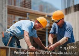 La prevenzione del rischio UV nelle attività outdoor | App PAF