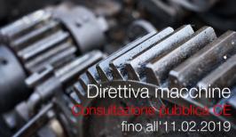 Direttiva Macchine Consultazione pubblica CE
