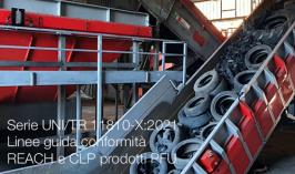 Serie UNI/TR 11810-X:2021 | Linee guida conformità Reach e CLP prodotti PFU