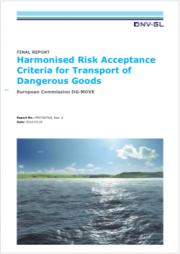 Harmonised Risk Criteria Transport Dangerous Goods