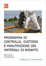Programma di controllo e manutenzione amianto (MCA)