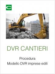 DVR Cantieri: Modello doc