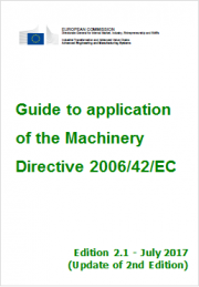 Guida Direttiva macchine 2006/42/CE - Ed. 2017 EN