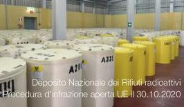 Deposito Nazionale dei Rifiuti radioattivi: Procedura d'infrazione aperta dall'UE