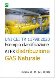 UNI CEI TR 11798:2020 | Esempio classificazione ATEX distribuzione GAS naturale