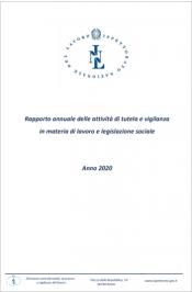 Rapporto annuale ispettorato nazionale del lavoro 2020