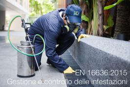 UNI EN 16636:2015   Gestione e controllo delle infestazioni