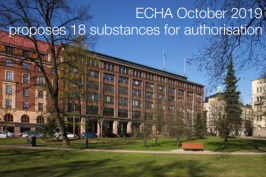 9th a recommendation Annex XIV REACH October 2019