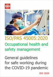 ISO/PAS 45005:2020 Guidelines safe working during COVID-19 pandemic