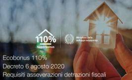 Decreto 6 agosto 2020 | Requisiti asseverazioni detrazioni fiscali Ecobonus