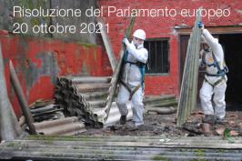 Risoluzione del Parlamento europeo 20 ottobre 2021 - 2019/2182 (INL)