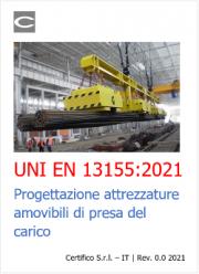 UNI EN 13155:2021 | Progettazione attrezzature amovibili di presa del carico
