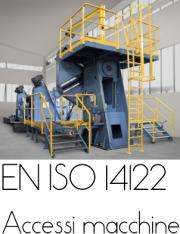 Le norme della serie EN ISO 14122:1-2-3